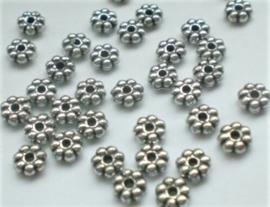 100 tussenkraal spacers 6x2.5mm
