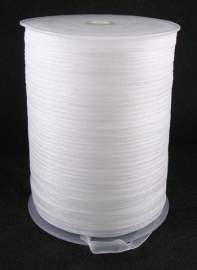 Organza lint 6mm wit