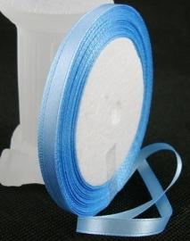 Satijn lint 6mm blauw