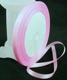 Satijn lint 6mm roze/lila