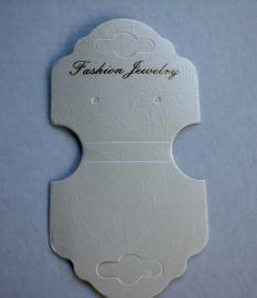 10  Sieraden Displays Kaarten voor armbanden of kettingen /oorbellen