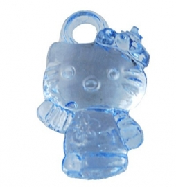 10 Hello kitty bedels blauw