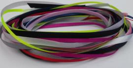 10 meter satijnlint in 10 verschillende kleuren