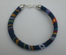 Zelfmaakpakket aztec koord armband in veel kleuren
