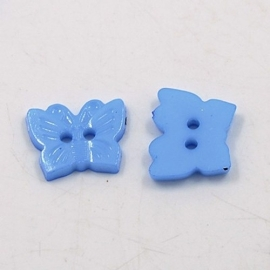 Knoop vlinder blauw