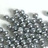 Pareltjes 4mm grijs aantal 250