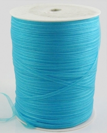 Organza lint 3mm turquoise