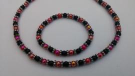 Sieraden maken ketting en armband in veel kleuren