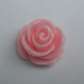 Roosje 23x13mm roze