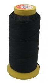 sterke rijgkoord zwart 0.4mm 5meter