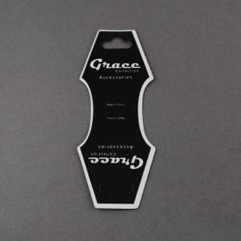 10  Sieraden Displays Kaarten zwart voor armbanden of kettingen