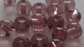 Glaskralen 4mm Aantal 25