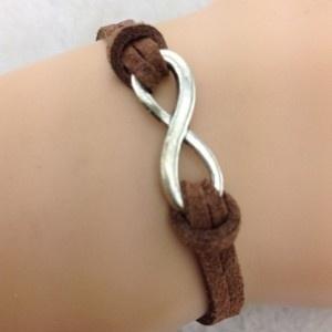 Zelfmaakpakket :infinity armband