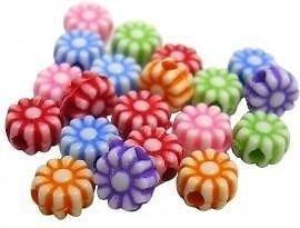 100 bloemetjes 5.5mm