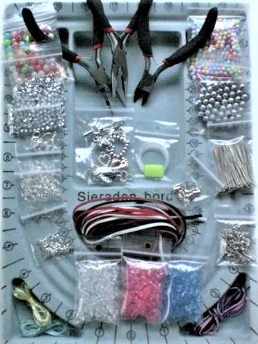 Zelf sieraden maken starterspakket sieraden maken nr.1