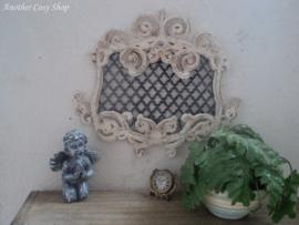 Miniatuur rococo raam