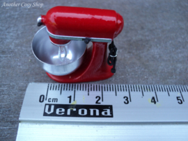 """Dollhouse miniature  stand mixer in 1"""" scale"""