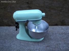 Poppenhuis miniatuur staande mixer schaal 1|12