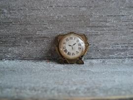 "Dollhouse miniature standing clock 1"" scale"