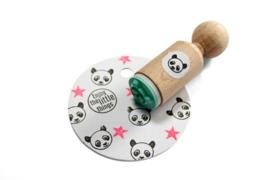 Mini stempel met panda