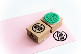 Stempel: For You.