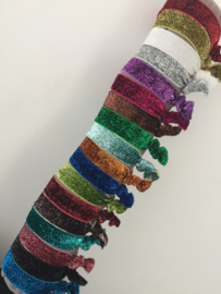 Glitter stretch armbandje