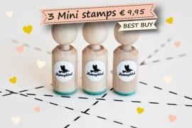SALE/3 mini stempels