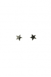 Oorbellen Blinckstar Star mini zilver.