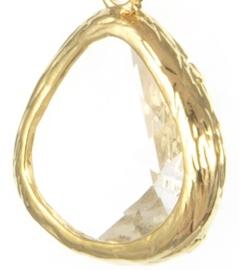 Oorbellen Modern/classics crystal.