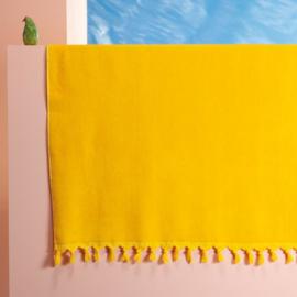 Velours hamam/badlaken XL geel