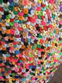 Kids mandje Habibah paillet XS multicolour