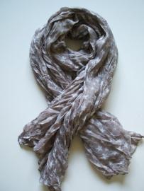 SALE. Sjaal met Sterren brons.