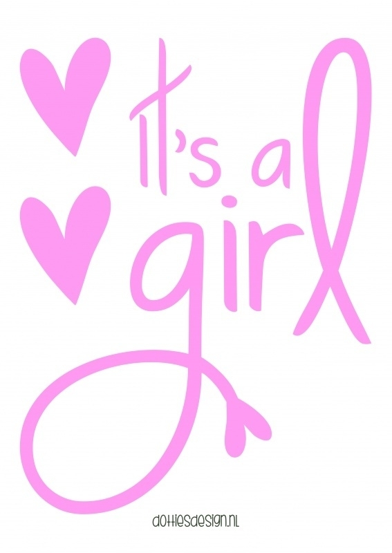 Poster IT'S A GIRL