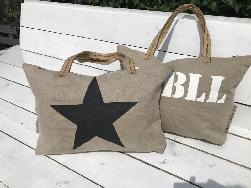 XL Shopper met zwarte ster