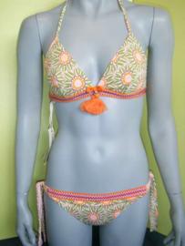 Raffaela d'Angelo bikini S roze/groen