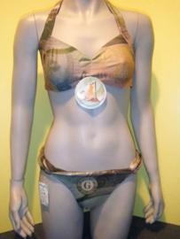 BlueGlue bandeau bikini MONEY  L