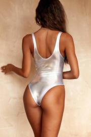 semi string body badpak zilver 36 38 cheeky (L)