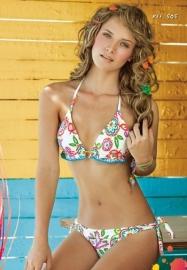 Fiz 505 triangle bikini M 38B 38C Zwart