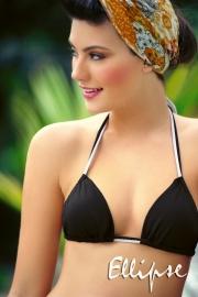 Ellipse Bikini triangle bikini zwart  36B 38C
