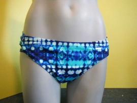 Shiwi gevelkte blauwe bikini slip 40