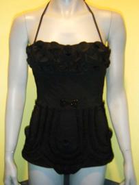 Prelude badpak zwart S 36