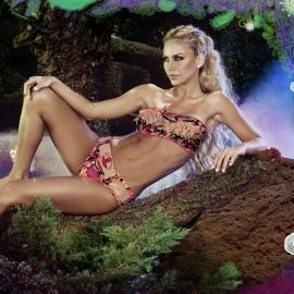 Paradizia Atlantis bandeau bikini S 34 36