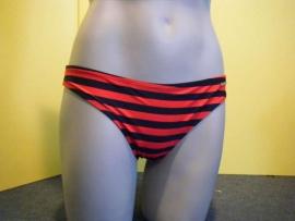 Shiwi bikinislip rood blauw maat 40