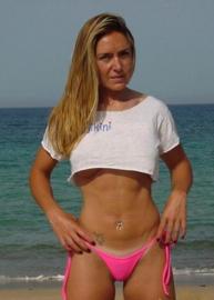 B'Fun bikinistring MINI pink