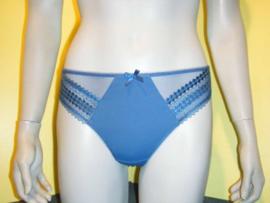 Fantasie Rebecca string S blauw