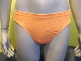 Calvin Klein string oranje met froezelrand M