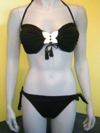 Rebecca swimwear bikini L 40 zwart