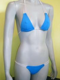 Octopus micro string bikini blauw 34/36 (PG)