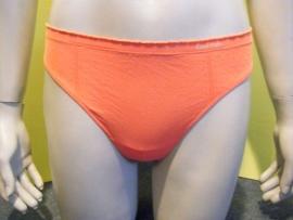 Calvin Klein string oranje met froezelrand L