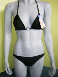 Sanselle Bikini zwart XL 38 piercing